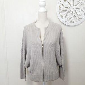 St. John size S full zip wool knitted cardigan